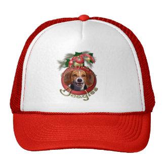 Christmas - Deck the Halls - Beagles Trucker Hats