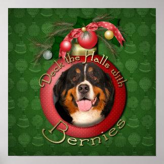 Christmas - Deck the Halls - Bernies Posters