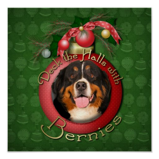 Christmas - Deck the Halls - Bernies Posters