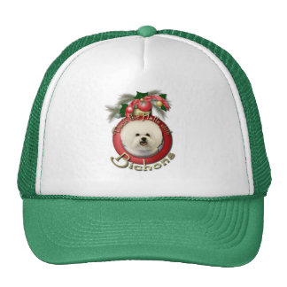 Christmas - Deck the Halls - Bichons Trucker Hats