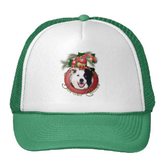 Christmas - Deck the Halls - Border Collies Trucker Hat
