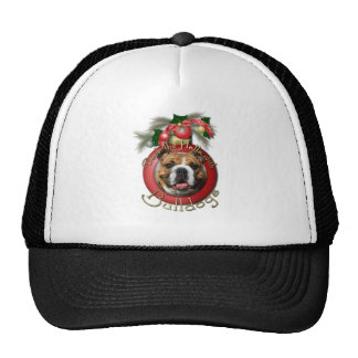 Christmas - Deck the Halls - Bulldogs Trucker Hat