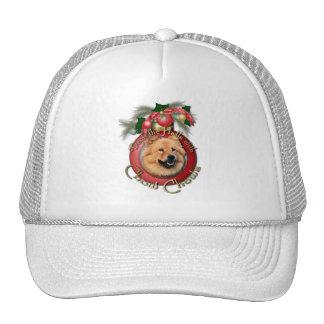 Christmas - Deck the Halls - Chows - Cinny Mesh Hat