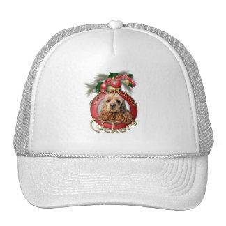 Christmas - Deck the Halls - Cockers Mesh Hats