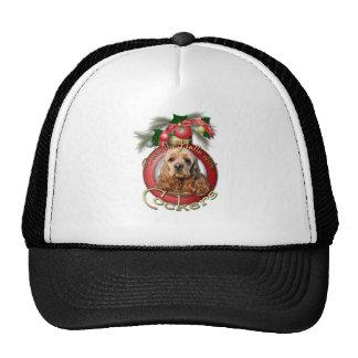 Christmas - Deck the Halls - Cockers Trucker Hats
