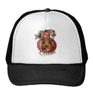 Christmas - Deck the Halls - Collie - Natalie Hats