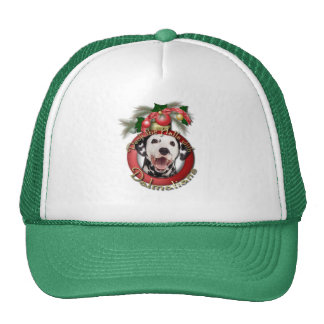 Christmas - Deck the Halls - Dalmatians Trucker Hats