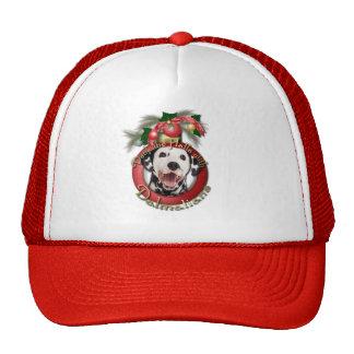Christmas - Deck the Halls - Dalmatians Hat