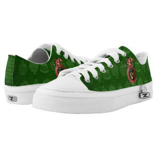 Christmas - Deck the Halls - Dobies - Megyan Low-Top Sneakers