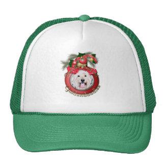 Christmas - Deck the Halls - GoldenDoodles - Daisy Trucker Hat