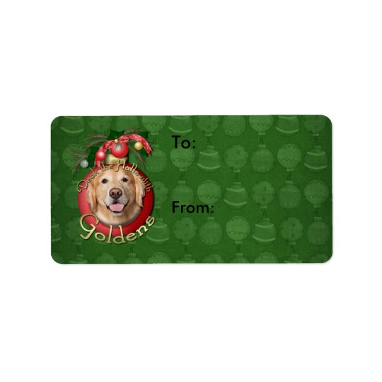 Christmas - Deck the Halls - Goldens - Corona Label
