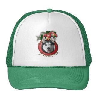 Christmas - Deck the Halls - Huskies Trucker Hat