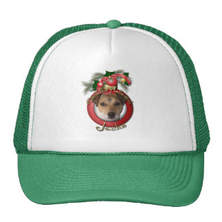 Christmas - Deck the Halls - Jack Russell Mesh Hats