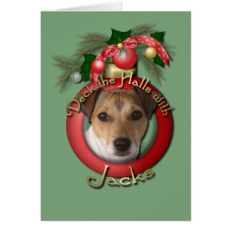 Christmas - Deck the Halls - Jacks Card