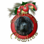 Christmas - Deck the Halls - Newfie Cut Outs