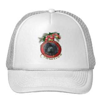 Christmas - Deck the Halls - Newfie Trucker Hats