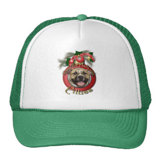 Christmas - Deck the Halls - Pitties - Tigger Trucker Hat