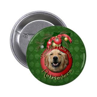 Christmas - Deck the Halls - Retrievers - Mickey Pins