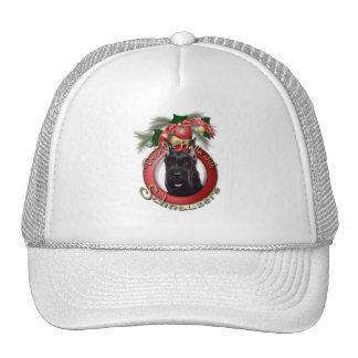 Christmas - Deck the Halls - Schnauzer Mesh Hats