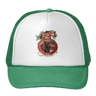 Christmas - Deck the Halls - Setters Trucker Hat