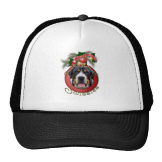 Christmas - Deck the Halls - Swissies Mesh Hat