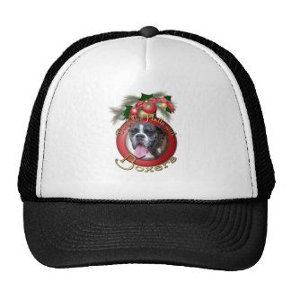 Christmas - Deck the Halls with Boxers Trucker Hat