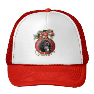 Christmas - Deck the Halls with Cockers Hat