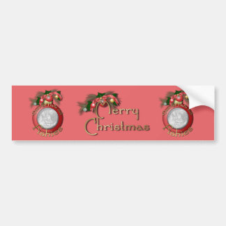 Christmas - Deck the Halls With Fishies Bumper Sticker