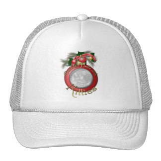 Christmas - Deck the Halls with Kitties Mesh Hats