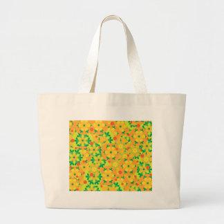 Christmas decor - yellow large tote bag