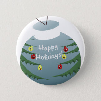 Christmas decoration 2 inch round button