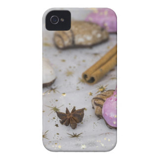 Christmas decoration and food iPhone 4 Case-Mate cases