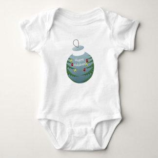 Christmas decoration baby bodysuit
