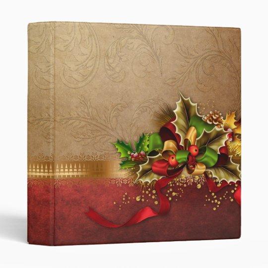 Christmas Decoration Binder