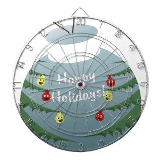 Christmas decoration dartboard