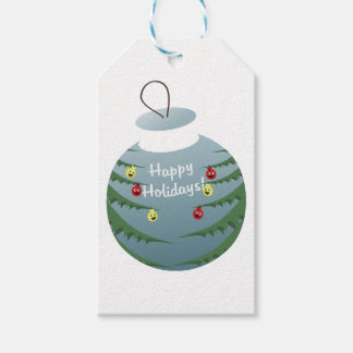 Christmas decoration gift tags