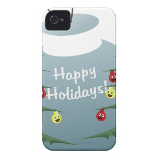 Christmas decoration iPhone 4 cover