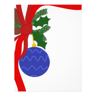 Christmas Decoration Letterhead