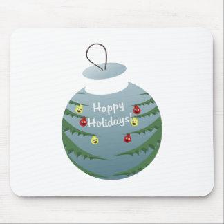 Christmas decoration mouse pad