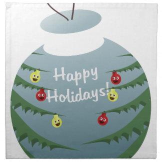 Christmas decoration napkin