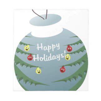 Christmas decoration notepad