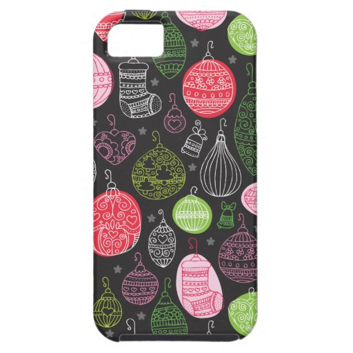 Christmas decoration pattern design iphone 5 iPhone 5 covers