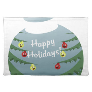 Christmas decoration placemat