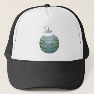 Christmas decoration trucker hat