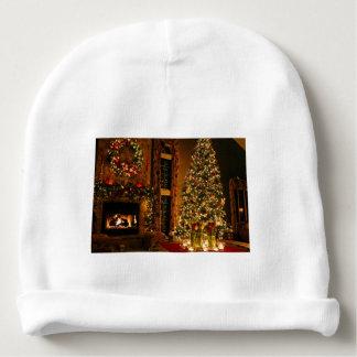 Christmas decorations - christmas tree baby beanie