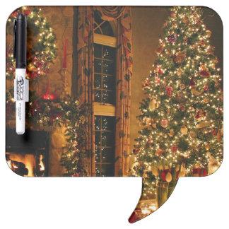 Christmas decorations - christmas tree dry erase board