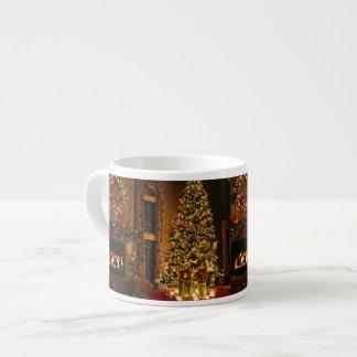 Christmas decorations - christmas tree espresso cup