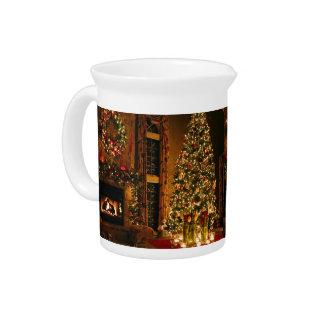 Christmas decorations - christmas tree pitcher