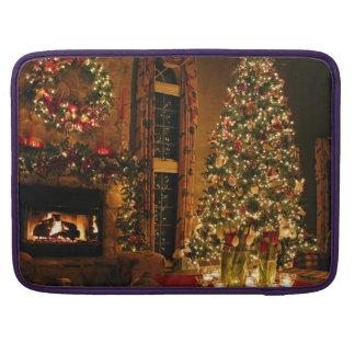 Christmas decorations - christmas tree sleeve for MacBooks