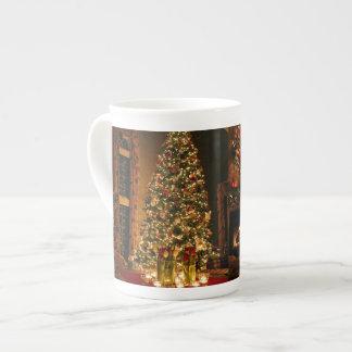 Christmas decorations - christmas tree tea cup